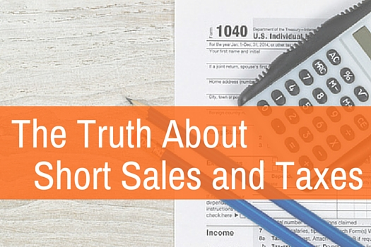 short sales and income tax